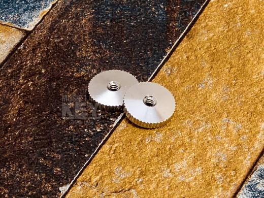 KEY'STONE 60年代复古副本圆顶指轮[字符串高度调节采用了圆形顶部形状Samunatto!]