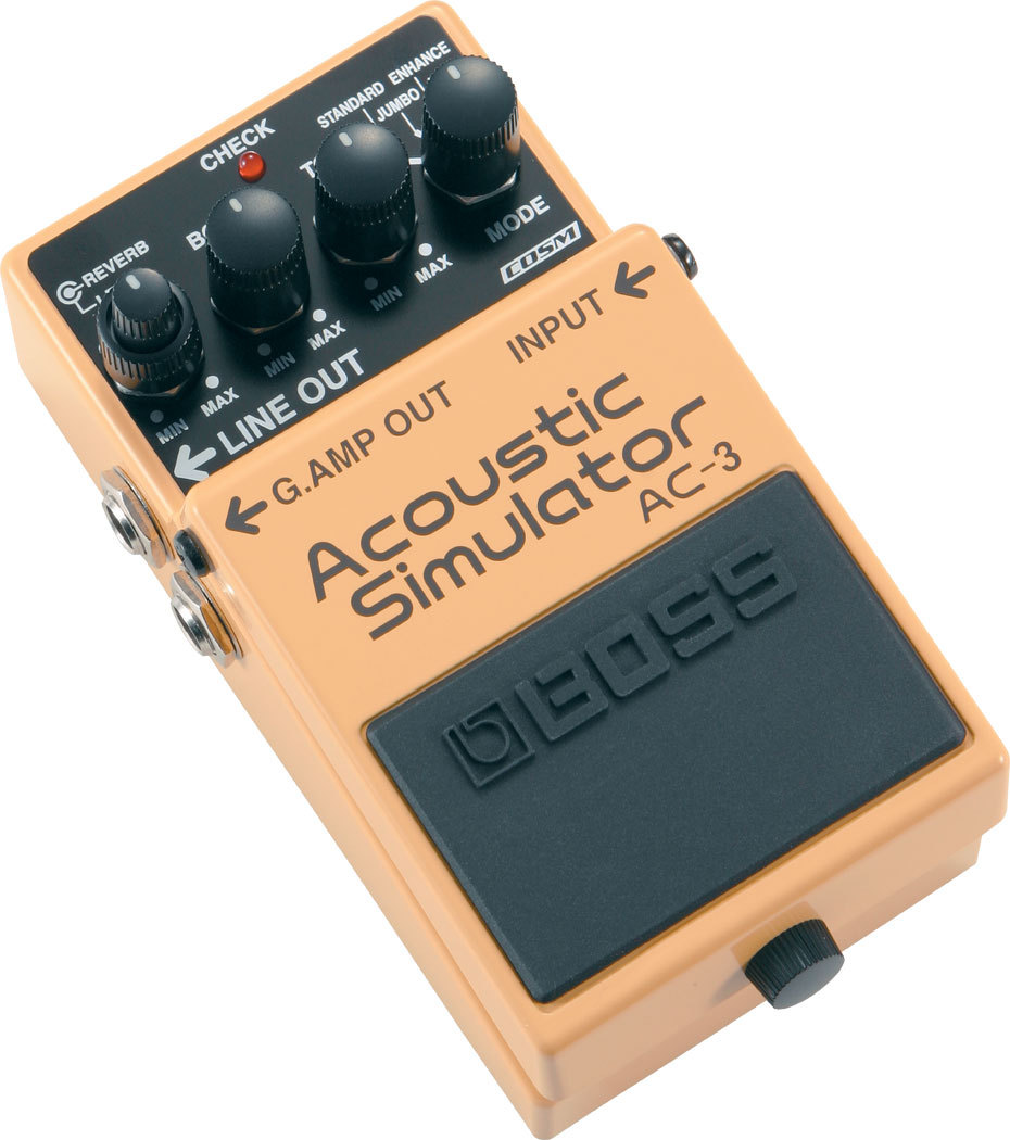BOSS AC-3 Acoustic Simulator [simulator] [Dejimato limited + 9V battery one more service!]