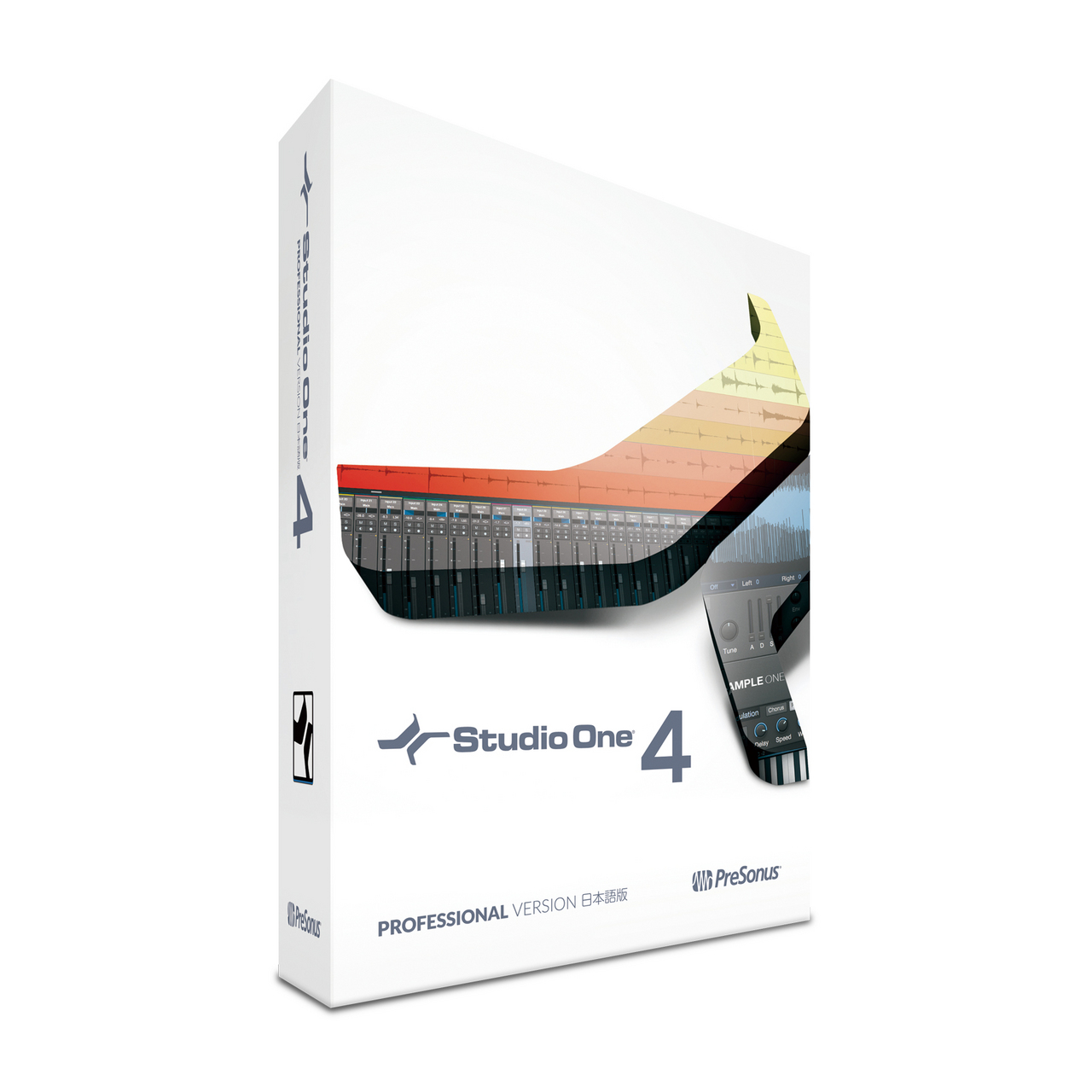 PreSonus Studio One 4 Professional Japanese version (box) [long-awaited major version up!]