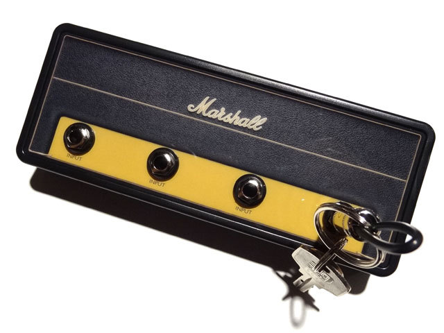 """Pluginz Official MARSHALL Jack Rack- """"1959SLP"""" with 4 keychains"""