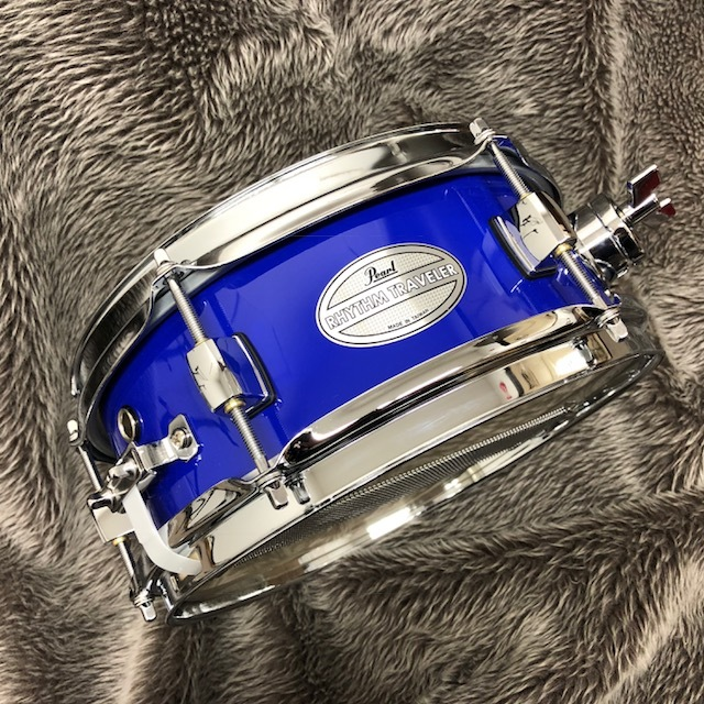 """Pearl Rhythm Traveler Effect Snare Drums RTN-1004SN (10 """"x4"""") BLUE exhibition replacement Specials!"""