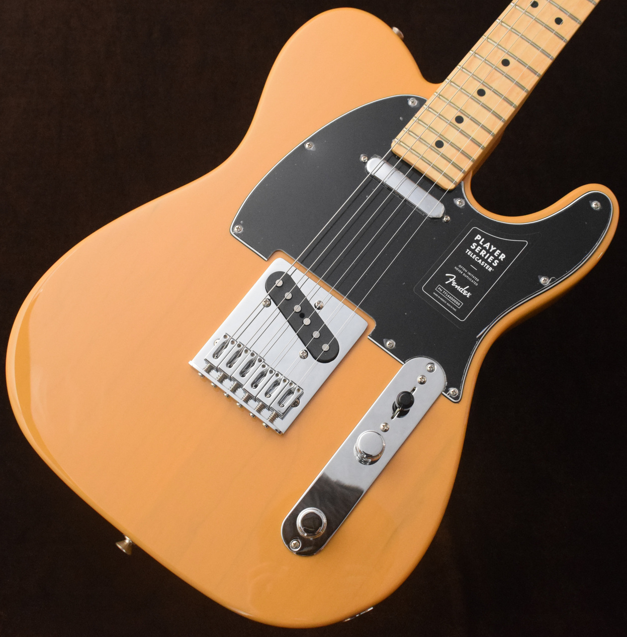 Fender 【買うなら今!】Player Telecaster MN ~Butterscotch Blonde~ ≒3.73kg 【ケースアップグレード!】