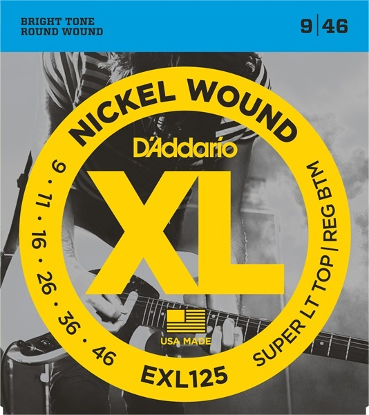 D'Addario XL Nickel Round Wound EXL125