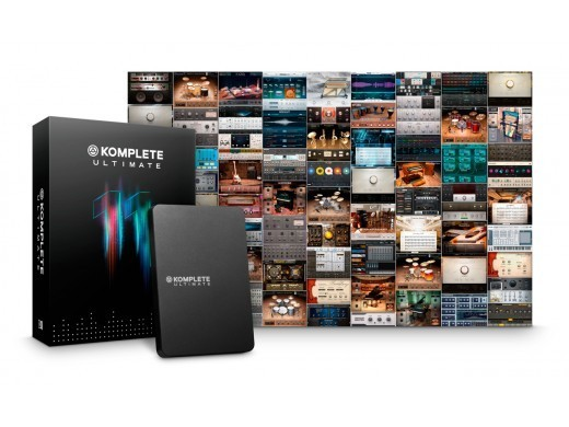 NATIVE INSTRUMENTS KOMPLETE 11 ULTIMATE UPD U8-10 [five stores Joint 2017 Christmas digital bargain !! 12/25 (Monday) until]