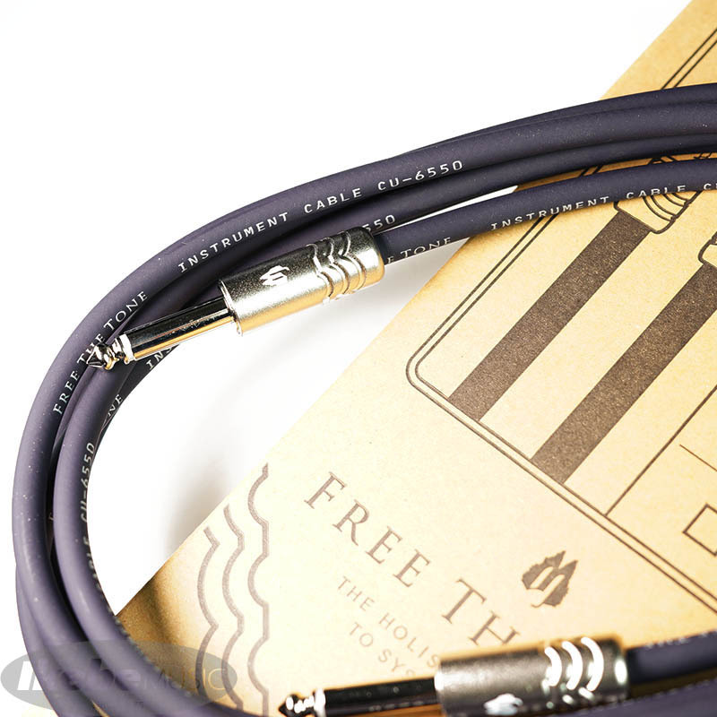 Free The Tone Instrument Cable CU-6550STD (3m/SL)