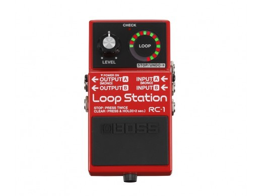 BOSS RC-1Loop Station [simple compact looper!]