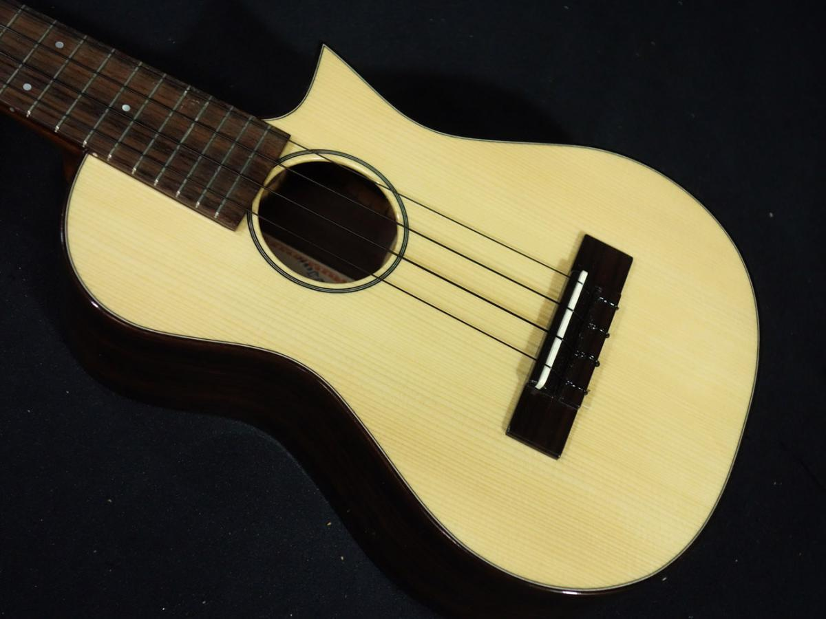 "ASTURIAS Solo Ukulele SC Spruce Rosewood [ ""18 times pay"" installment fees Shipping !! up]"