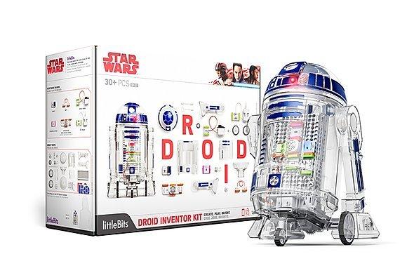 littleBits 【フォースは君と共にある】Droid Inventor Kit 【組み立てキット】【R2-D2】【大特価!!】