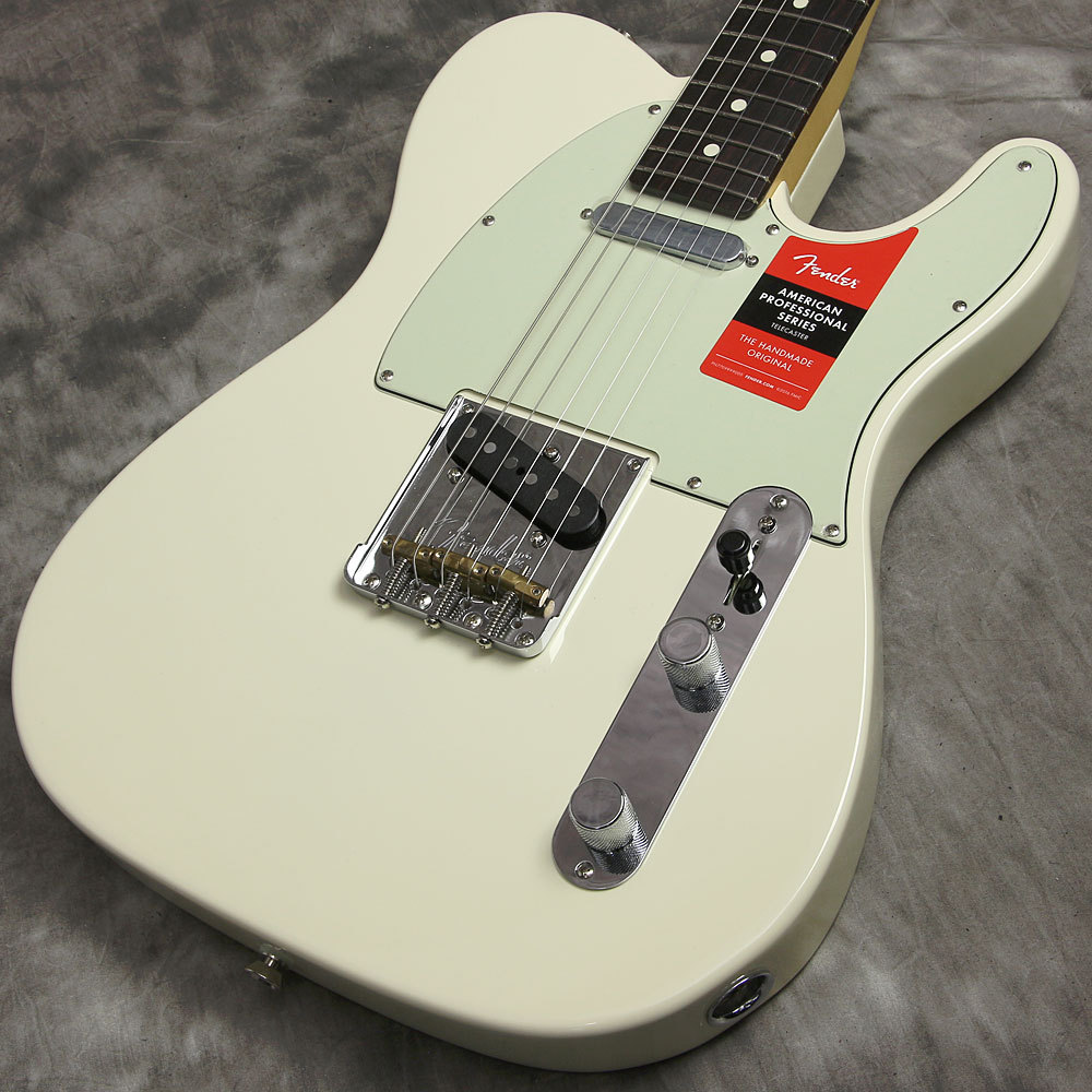 Fender American Pro Telecaster Olympic White Rosewood [Yokohama]