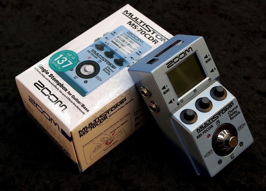 ZOOM MS-70CDR  Chorus / Delay / Reverb Pedal【空間系マルチエフェクター!】【即納可能】【】