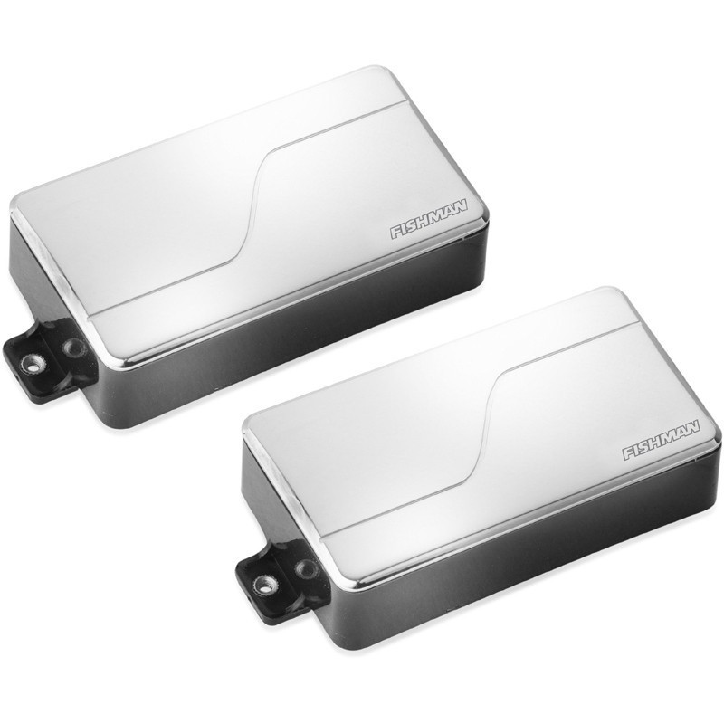 FISHMAN Fluence Modern Humbucker Alnico&Ceramic Pickup Set Nickel 【アクティブ】【ハムバッカー】【即納可能】