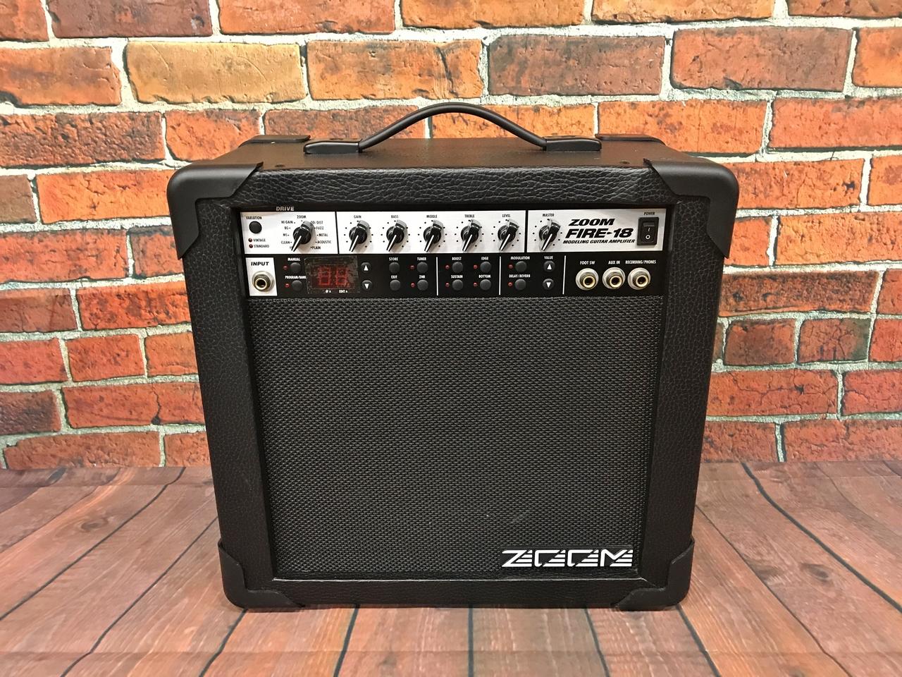 ZOOM消防-18模拟组合吉他音箱[使用美容产品]