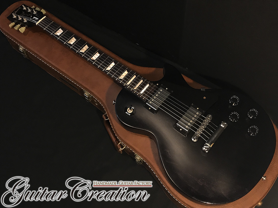 Gibson Les Paul Studio Faded T '16年製【Satin Ebony】~Clean Condition~ 3.75kg