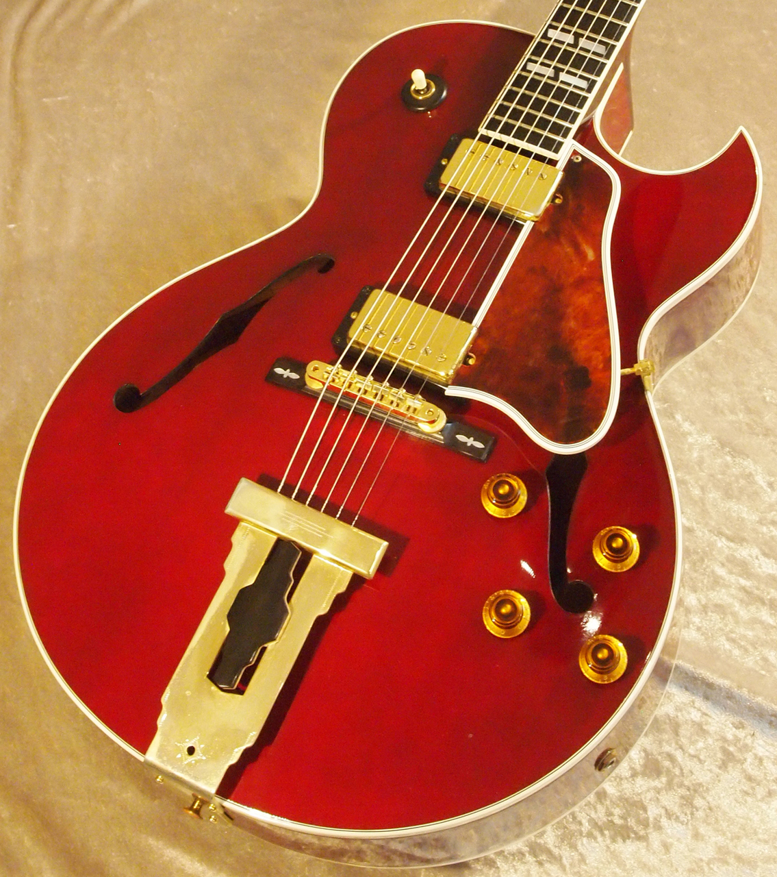 Gibson 【USED】 L-4CES Wine Red  2002年製[メイプルバック] [フルアコ][エボニー指板]【G-CLUB TOKYO】