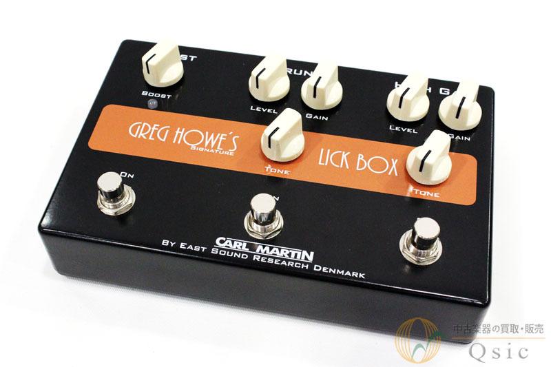 CARL MARTIN Greg Howe's LICK BOX [UF552]