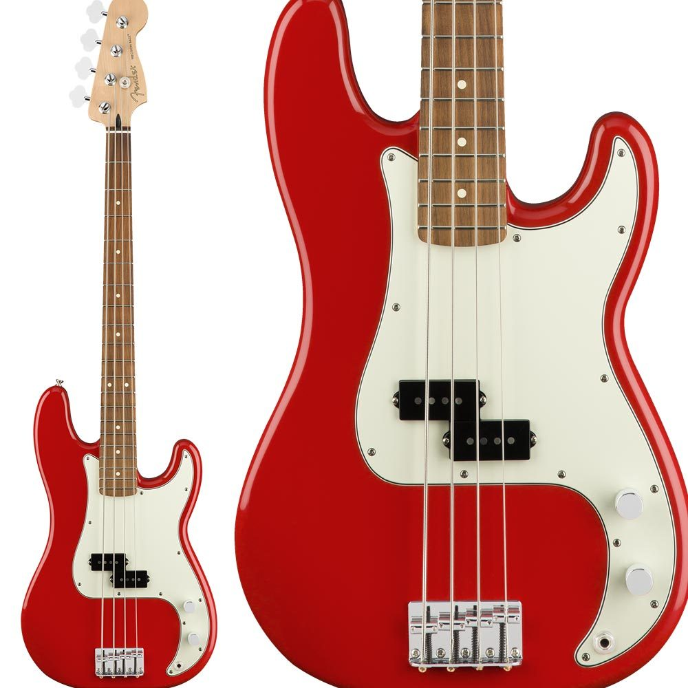 Fender Player Precision Bass, Pau Ferro Fingerboard, Sonic Red プレシジョンベース