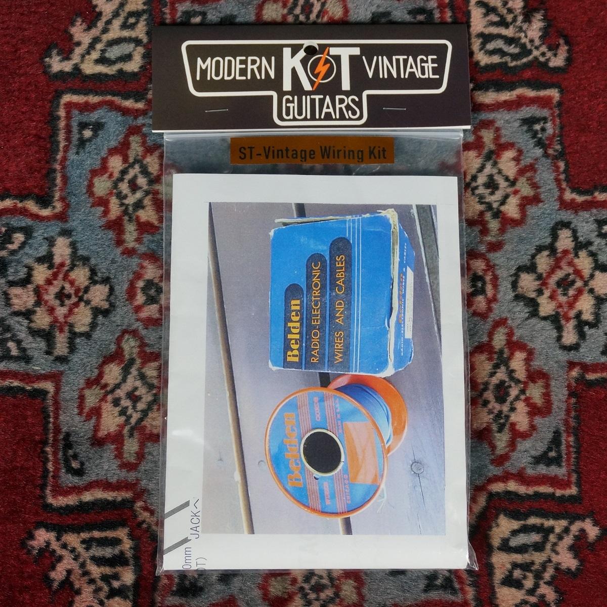 K&T MODERN VINTAGE GUITARS ST-Vintage Wiring Kit 【ラストストック!!稀少なヴィンテージ・ベルデン・ワイヤー!!ST用】