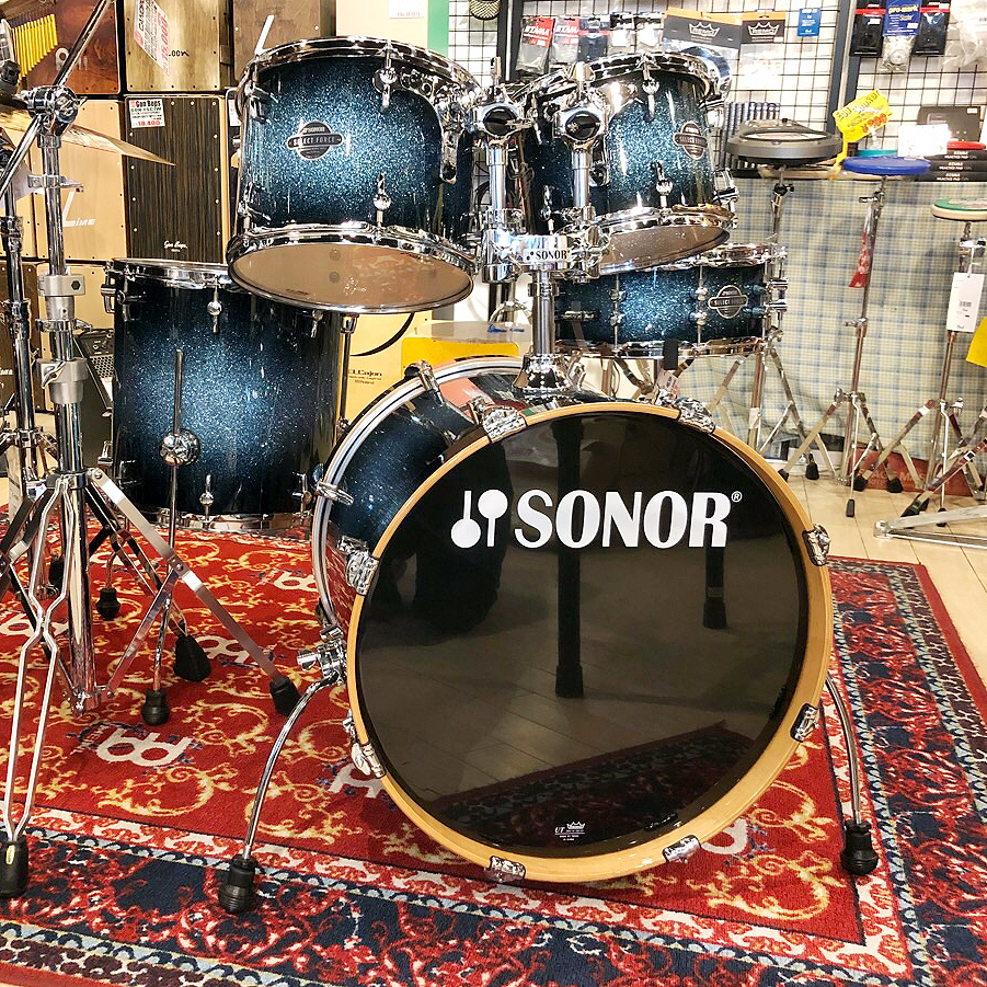 Sonor SELECT FORCE Siries Studio Set SEF11ST #BLGS [final bargain basement !! 43% OFF !!!! for out of print]
