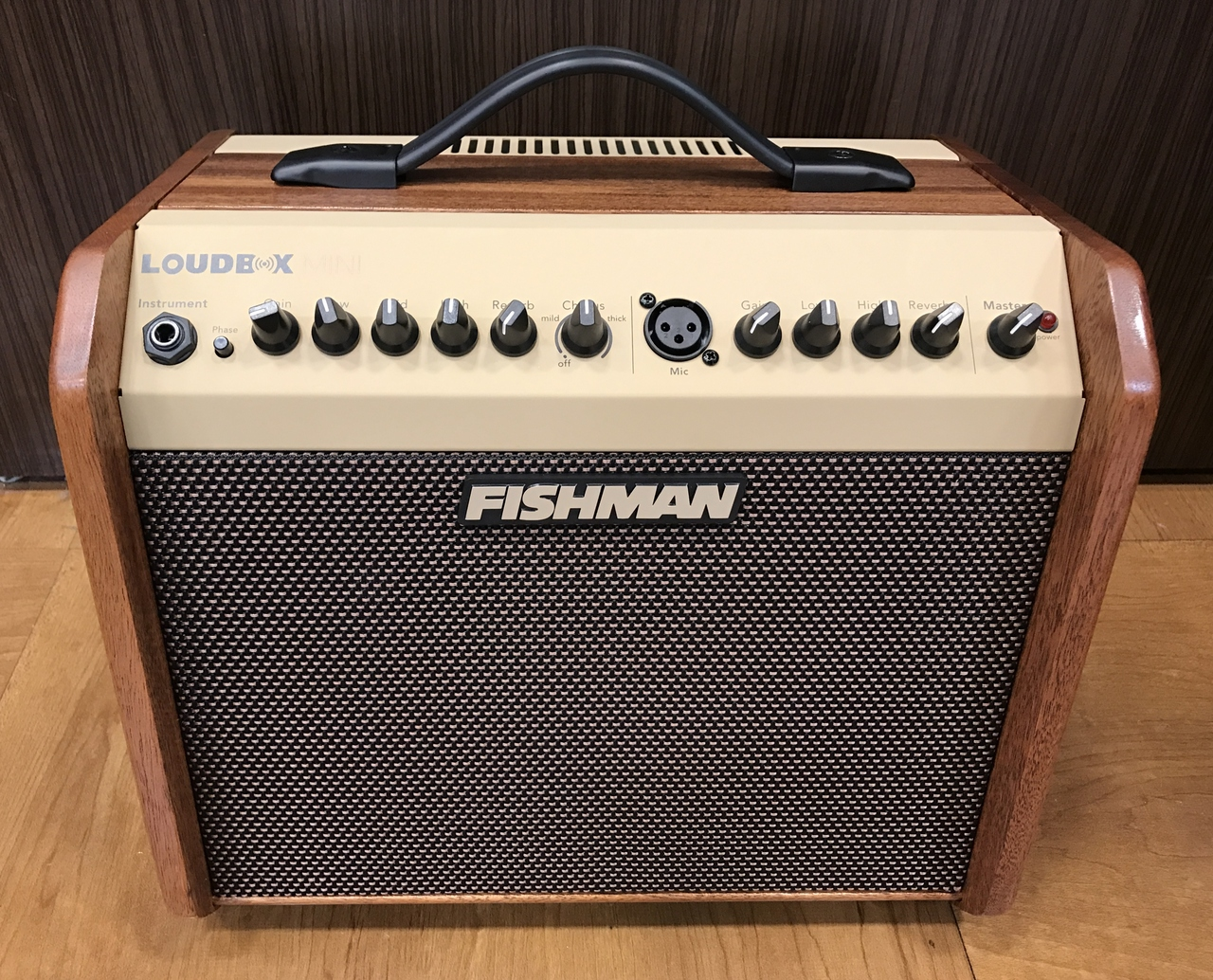 FISHMAN Limited Edition Loudbox Mini Mahogany PRO-LBX-5MJ [exhibition replacement Specials] [Limited model]