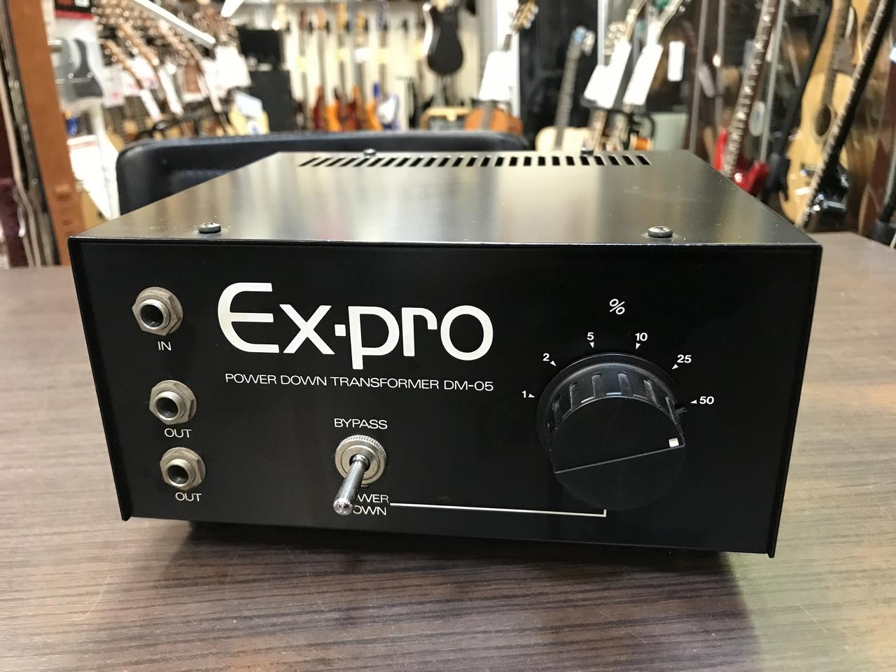 Ex-pro DM-05 Power Down Transformer 【中古品】【元箱付】【アッテネーター】