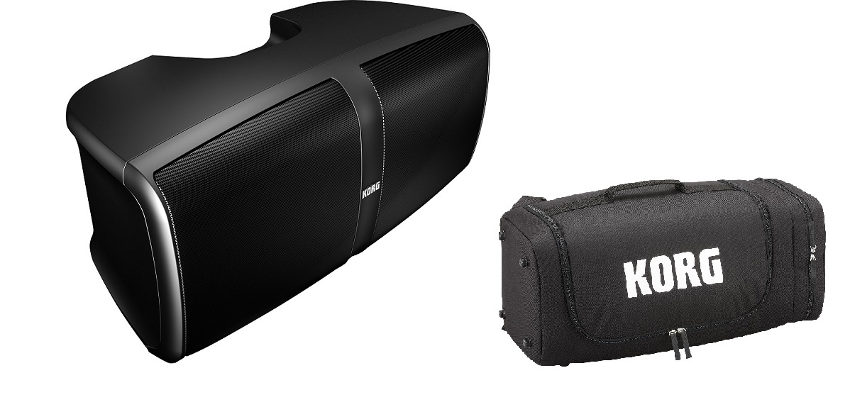 KORG KONNECT -PORTABLE STEREO PA SYSTEM- 2-piece set Body + case] [new products]