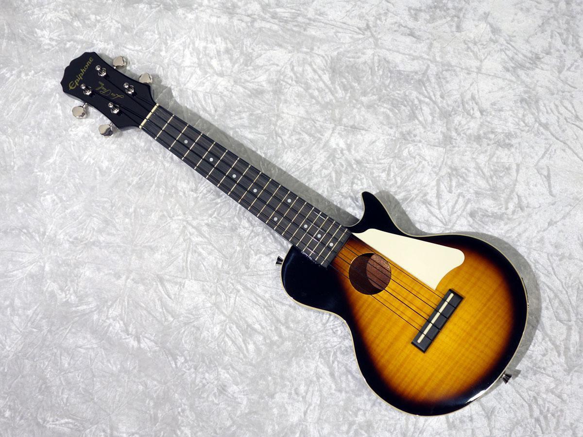 Epiphone Les Paul Acoustic / Electric Ukulele Vintage Sunburst