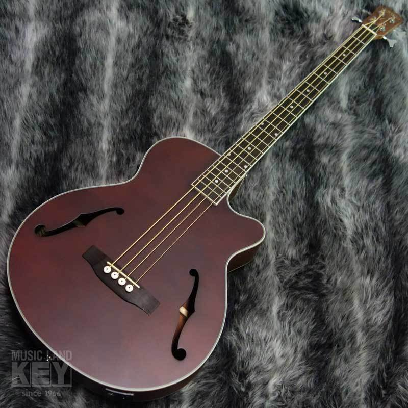 URIEL UNB-200F CE WN [original order !! F-hole type of acoustic bass !!