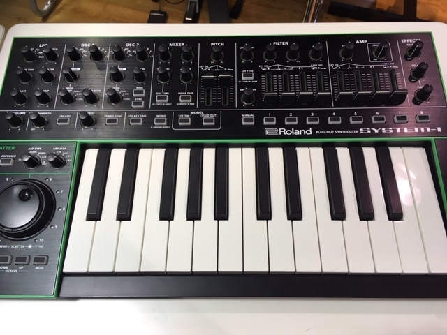 Roland AIRA SYSTEM-1 PLUG OUT Synthesizer【展示品限り特価!】