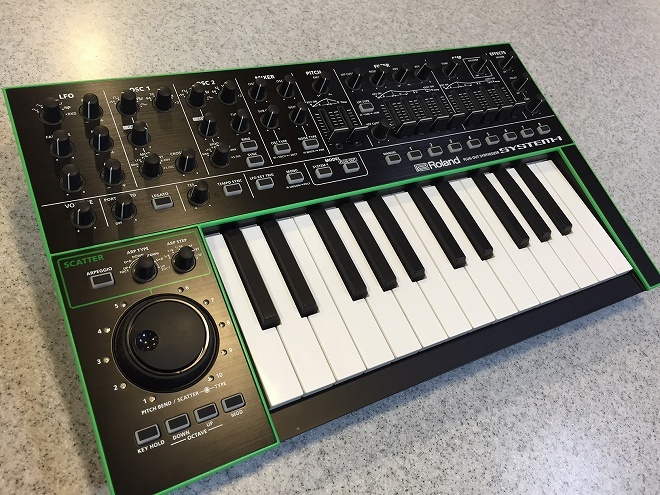 Roland SYSTEM-1 [outlet goods] plug-out synthesizer