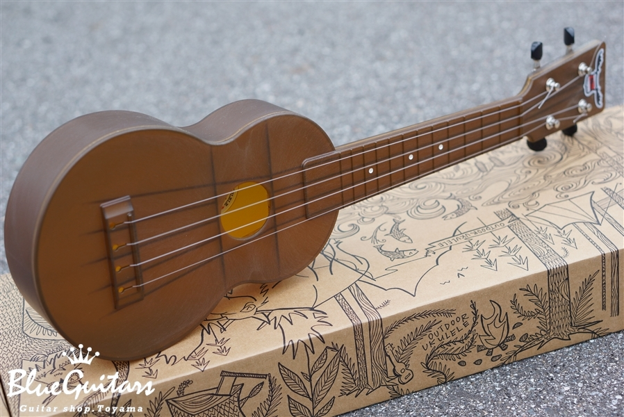 OUTDOOR UKULELE Soprano - Brown Nickel