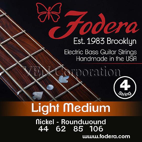 Fodera 4 Strings -44106NI- Light Medium