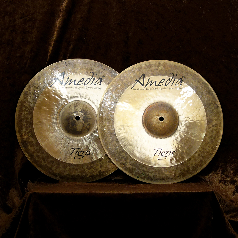 "Amedia Tigris Hi-Hat 14 ""TOP + BOTTOM [once the balance sheet in the KEY year great bargain! All stores being held until 2/28!]"