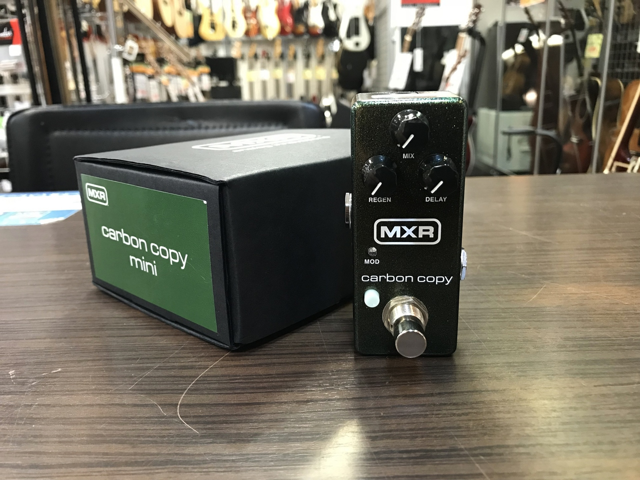 MXR M299 Carbon Copy Mini Analog Delay 【アウトレット特価】