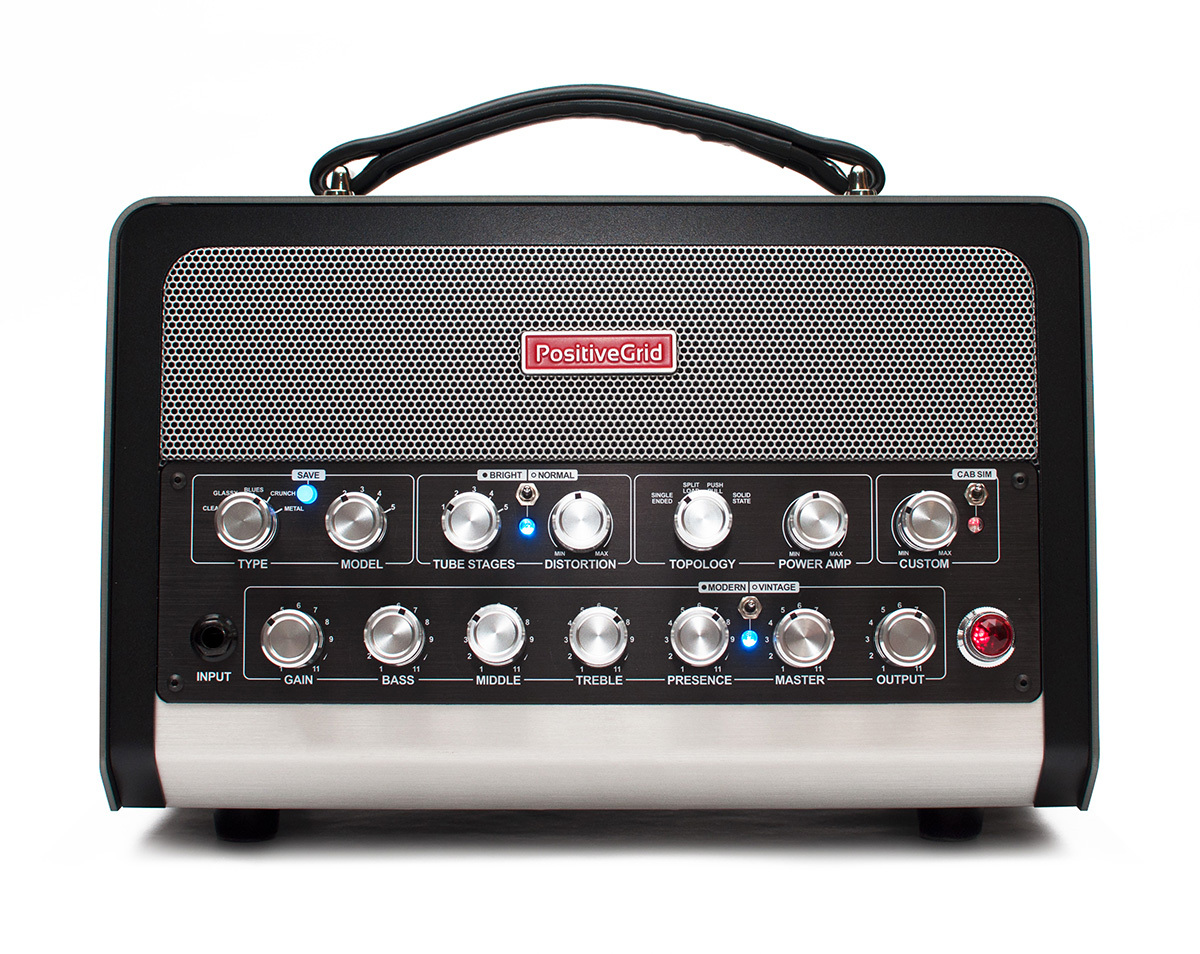 Positive Grid BIAS Head 600W AMP MATCH AMPLIFIER