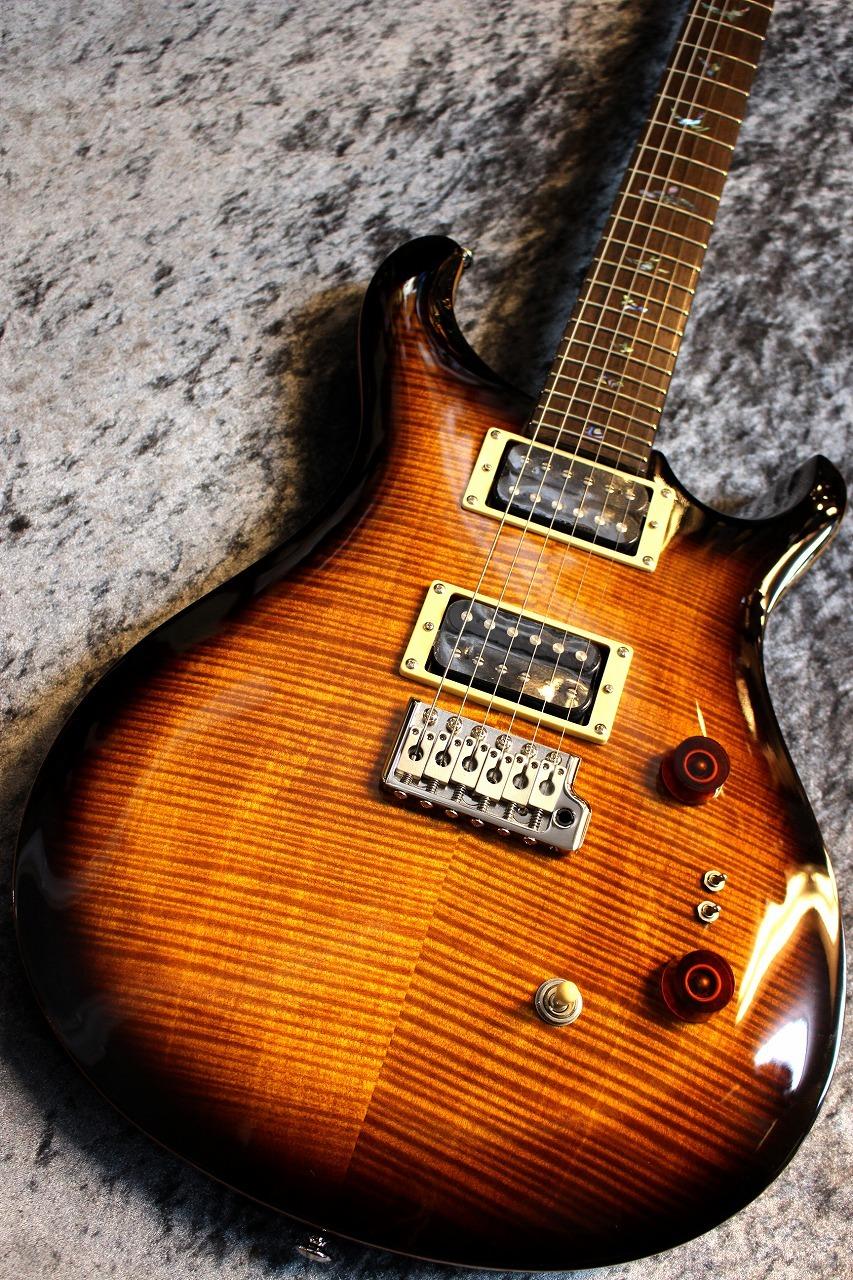 Paul Reed Smith(PRS) SE Custom24 35th Anniversary Limited Black Gold Burst  #B49457 【超美杢個体】【限定モデル】