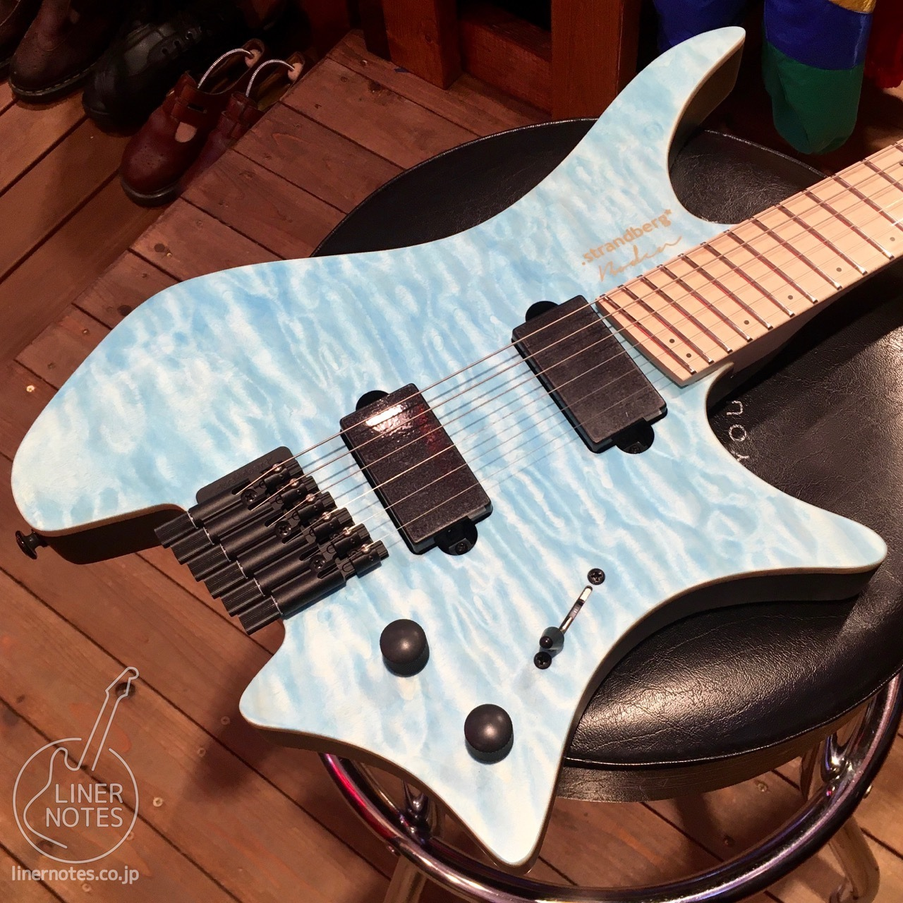strandberg Boden RAS 6 (BanG Dream! RAISE A SUILEN – LOCK モデル)