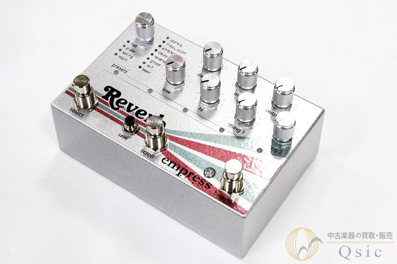 Empress Effects Reverb High-Quality Stereo Reverb [SE050]