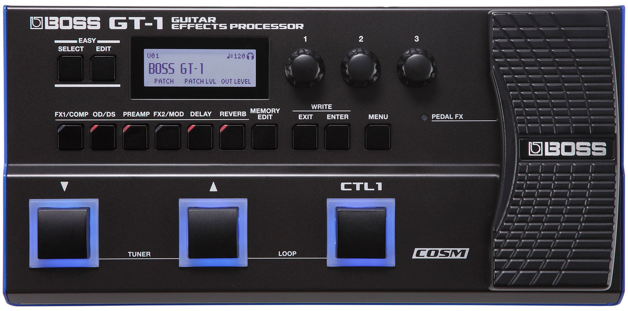 BOSS GT-1 Guitar Effects Processor 【ACアダプター、専用ケースサービス!】【!】