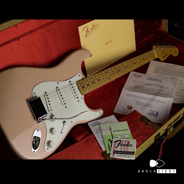 "Fender 【動画有】Fender New American Vintage '56 Stratocaster ""Shell Pink""  2013's"