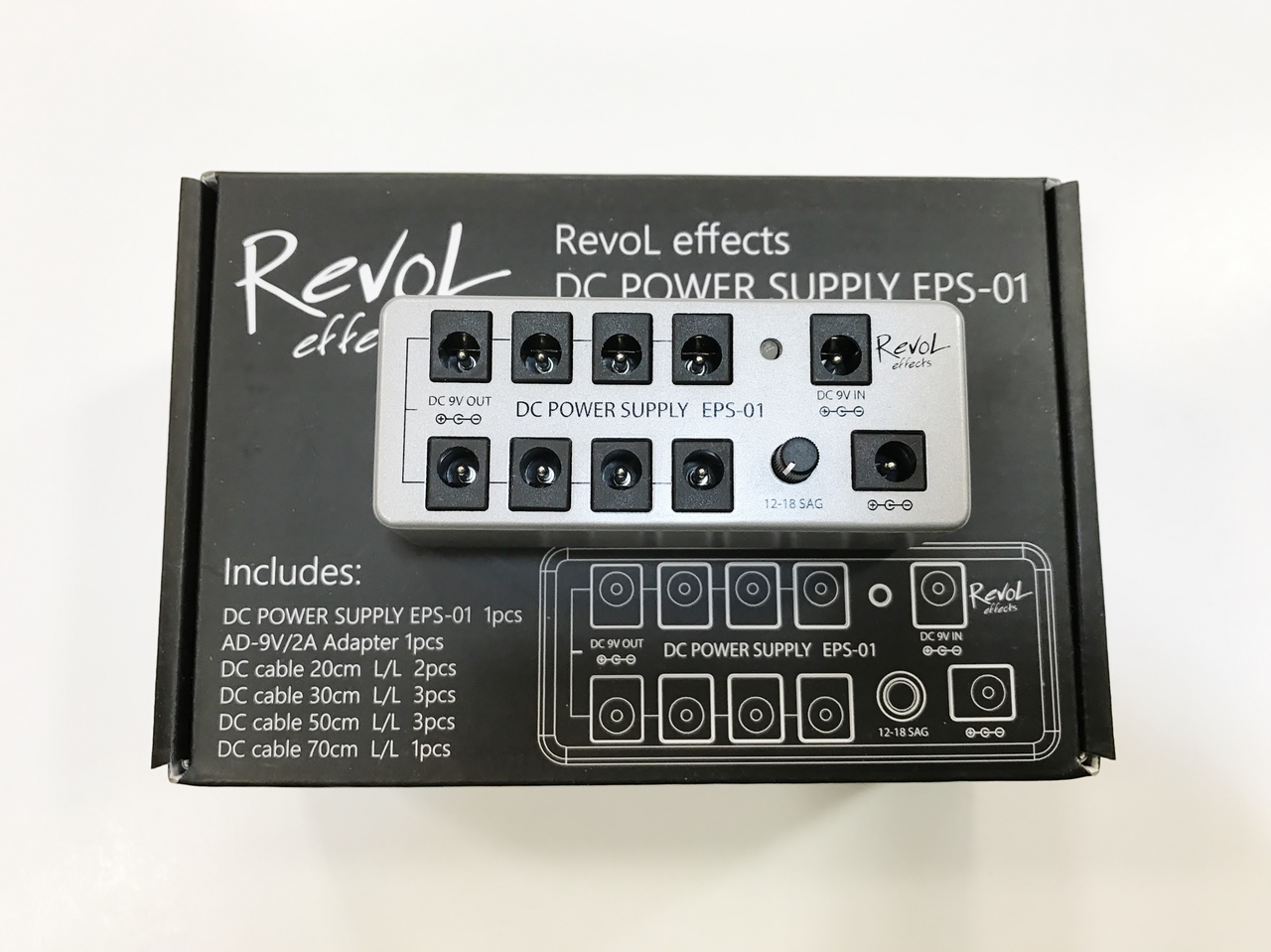 RevoL effects DC Power Supply EPS-01SET [power supply]