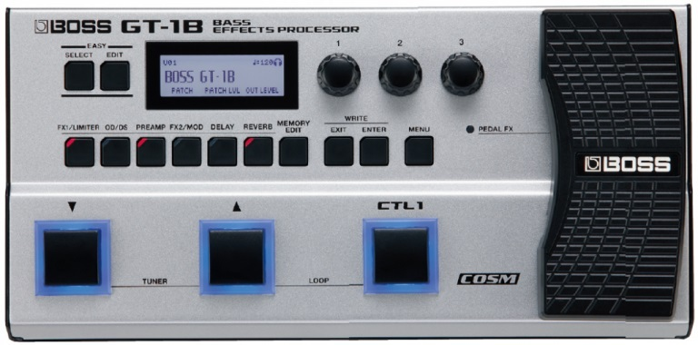 BOSS GT-1B new-based Multi-Effects