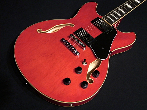 Ibanez AS73 Transparent Cherry Red