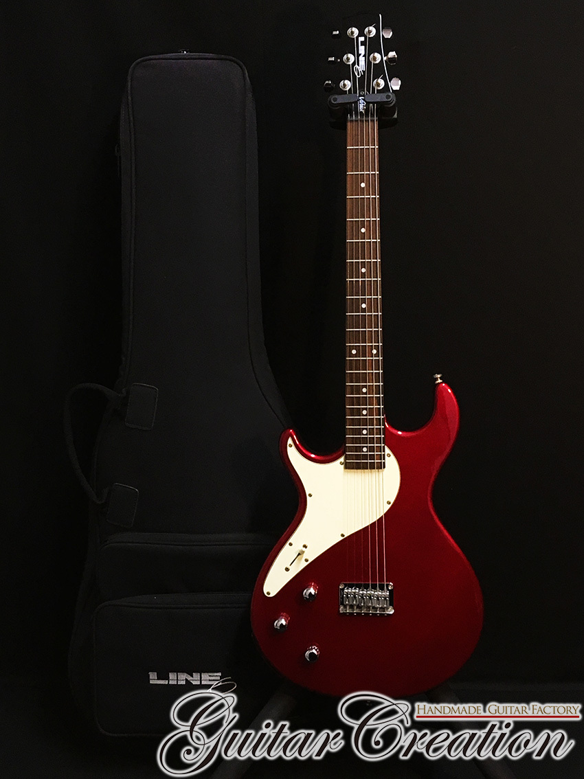 "LINE 6 Variax 500 LEFTY MODEL '03年製【Candy Apple Red】""Very Rare"" 3.45kg"