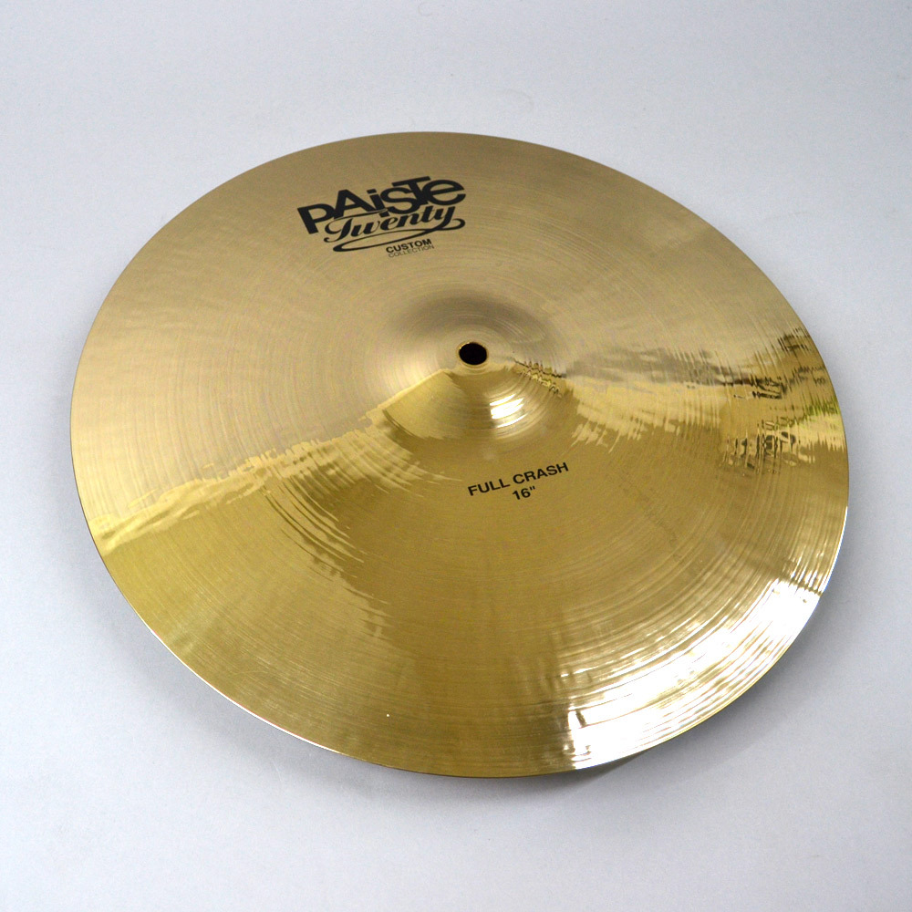 "PAiSTe Twenty Custom Collection Full Crash 18 ""crash cymbal [Kumamoto Parco shop]"
