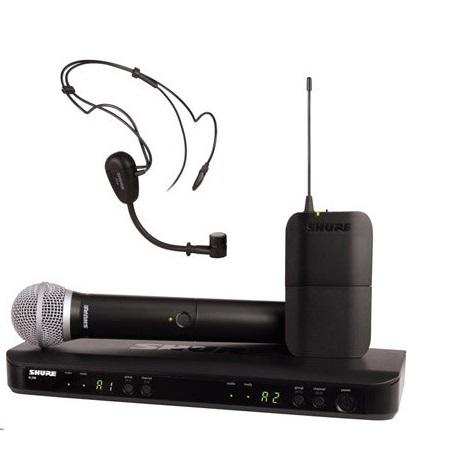 Shure BLX1288/PG30 ヘッドセットコンボワイヤレスシステム -ボーカル