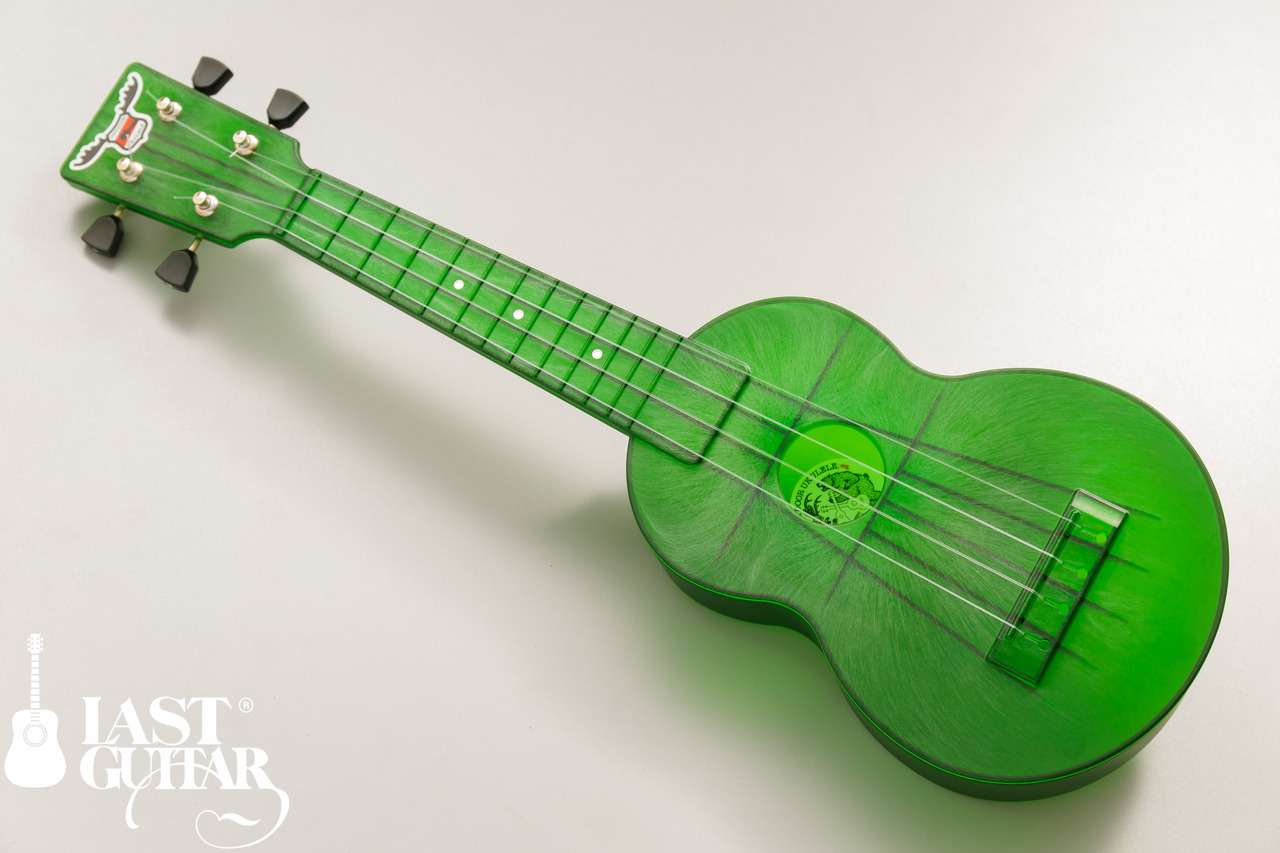 OUTDOOR UKULELE Soprano Green Nickel
