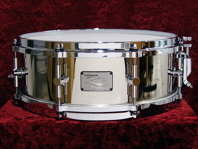 canopus S-1450N ~ The Steel Snare Drum ~ [revolutionary character !! one limited bargain basement !! of steel snare]