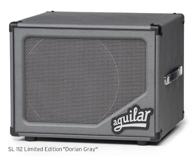 "aguilar SL112 Limited Edition ""Dorian Gray"" [Limited Color! popularity of compact cabinet!]"