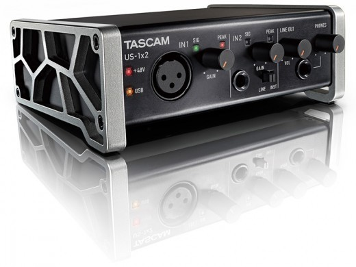 Tascam US-1x2-CU [in Cubase LE included! Reservation accepted] []