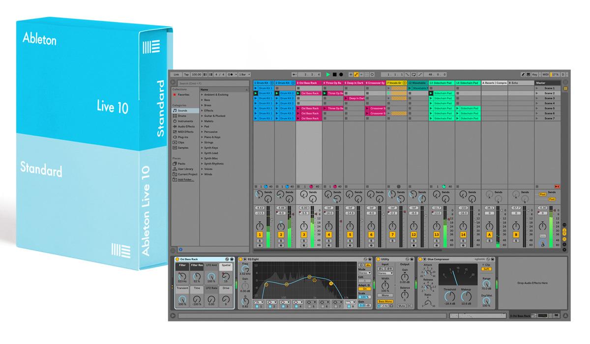 Ableton Live 10 Standard Normal Edition DAW software [Ochanomizu head office SOUTH]